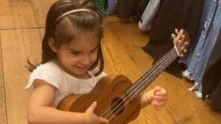 Karan Johar Shares Roohi's Adorable Video Playing Guitar, Singing 'Old MacDonald Had A Farm'