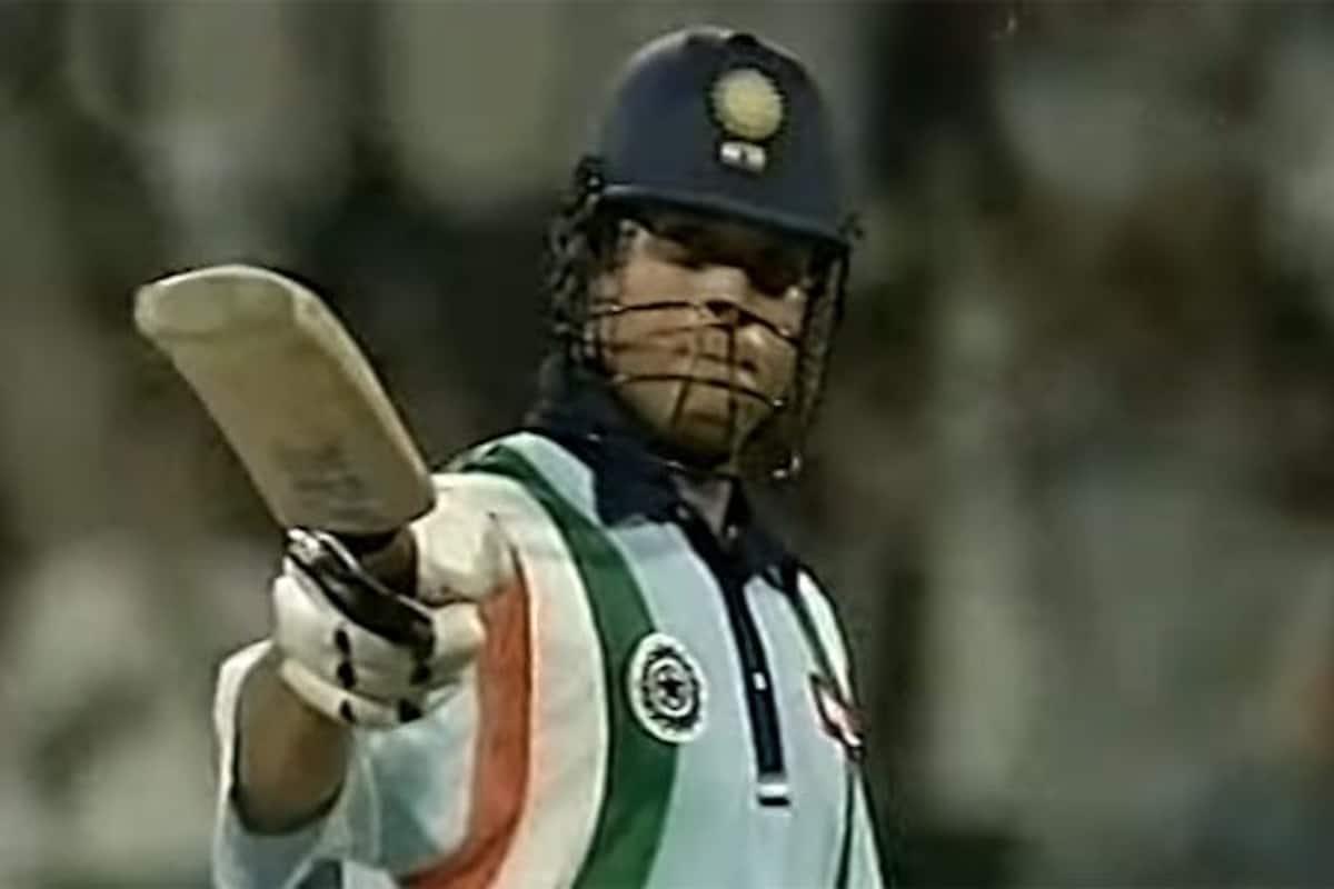 This Day, That Year: India Batting Legend Sachin Tendulkar Iconic ...