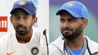 Shocked With Pant's Keeping in New Zealand; Saha Best Wicketkeeper Batsman: Dilip Doshi