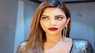 Shama Sikander Looks Uber Hot in Silver Dress, See Photos