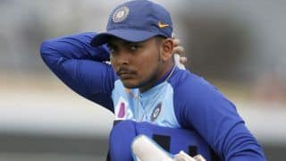 Don't Think I Ever Got Carried Away: Prithvi Shaw