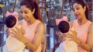 Shilpa Shetty Kundra Shares Video with Daughter Shamisha on Touching 15 Million TikTok Followers