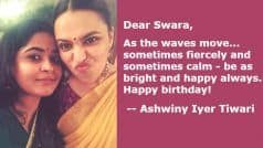 Exclusive: On Swara Bhasker's Birthday, Director Ashwiny Iyer Tiwari Talks About Her 'Gutsy' Friend