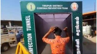 Watch | This Innovative Tunnel in Tamil Nadu's Tiruppur Disinfects As You Walk Along It