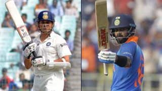 Can Kohli Break Tendulkar's Record of 100 Tons? Hogg Answers