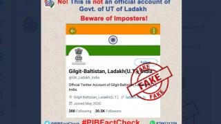 Fact Check: Has Ladakh's Twitter Handle Changed To 'Gilgit-Baltistan, Ladakh (U.T)? PIB Says No!