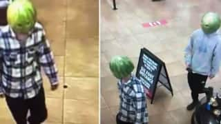 Shoplifters in Virginia Wear Watermelons on Head As Disguise to Rob a Store, Pics Go Viral