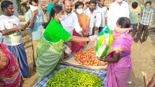 Watch   Telangana MLA Travels 20 km Daily Through Hills & Forest to Distribute Essentials to Poor