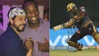 Andre russell i want ipl retirement in kolkata knight riders jersey 4018386