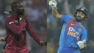 Your notebook celebration will not work today when virat kohli faced kesrick williams 4026247