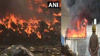 Delhi Fire Breaks Out: टिकरी कलां इलाके के गोदाम में लगी भीषण आग, 30 से ज्यादा दमकल की गाड़ियां पहुंची