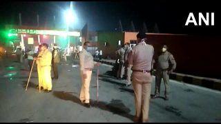 प्रवासी श्रमिकों से भरा मिनी ट्रक हुई दुर्घटना का शिकार, अयोध्या में 20 और हमीरपुर में 10 मजदूर घायल