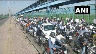 Delhi-NCR Border Closed: Traffic Snarls, Utter Chaos, Stone-Pelting on Day 3 of Lockdown 4.0 | Watch