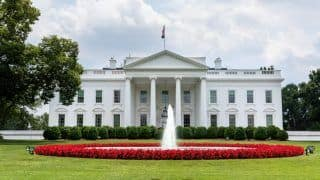 Hindu Priest Recites Vedic Shanti Path at White House on National Day of Prayer Service