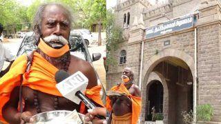 रुपयों से भरी थाली लेकर कलेक्टर के पास पहुंचा भिखारी, कोराना राहत फंड में दान किए हजारों रुपए