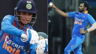 Smriti mandhana mohammed shamis 120 kmph bowl hit my thigh it got swollen for 10 days 4016316