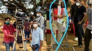 Akshay Kumar Resumes Outdoor Shooting For Public Service Film Amidst Lockdown With Mask