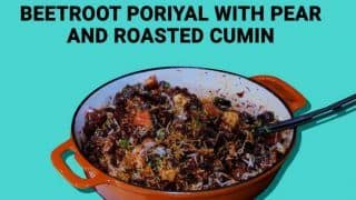 Watch: This Beetroot Poriyal Recipe With a Spicy Twist Will Make You Proud of Your Cooking Skills