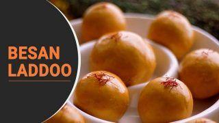 Besan Laddoo Recipe In Hindi: घर पर इस तरह बनाएं बेसन के लड्डू