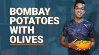 Watch: How to Convert a Boring Common Dish Into a Tasty 'Bombay Potato With Olives' - Recipe