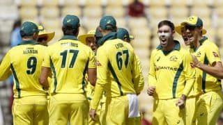 Uncapped Trio Make Australia's UK Touring Party; Lyon, Maxwell, Stoinis Recalled