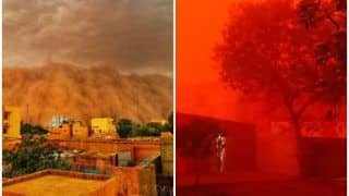 Massive Sandstorm in West Africa Paints The Sky Blood Red, Twitter Calls It 'Apocalyptic' | Watch Dramatic Video