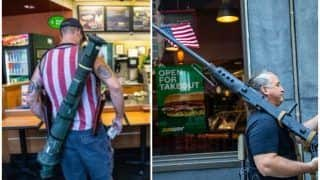 Anti-Lockdown Protesters Enter North Carolina Sandwich Shop Armed With Guns & Rocket Launcher, Mocked Online