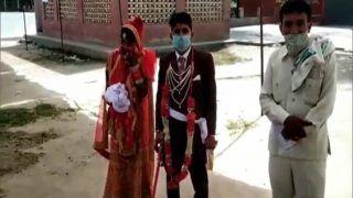 शादी के तुरंत बाद दूल्हा-दुल्हन सीधे पहुंचे अस्पताल, कोरोना टेस्ट कराने के बाद पहुंचे घर