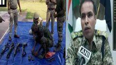 झीरम घाटी हमले कांग्रेस नेता महेंद्र कर्मा के सुरक्षाकर्मी से लूटे गए हथियार नक्सलियों से एनकांउटर में बरामद