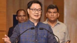 Sports Ministry 'Cannot Rush Into Decision' on Resumption of Outdoor Training in Track And Field: Kiren Rijiju