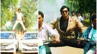 MP Cop Recreates Ajay Devgn's Famous Action Stunt, Gets Fined Rs 5000 | Watch Viral Video