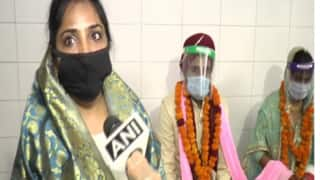 The New Normal? Couple Ties Knot Wearing Masks and Face Shields at Gurudwara in Kanpur