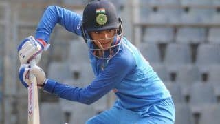 WORLD RECORD! Mandhana Becomes 1st Cricketer to Hit 10 Consecutive Fifties in ODIs While Chasing