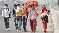 दिल्ली से पटना फ्लाइट से गए मजदूर, एयरपोर्ट पर बोले- चप्पल पहनी हैं, हमें विमान में घुसने देंगे?