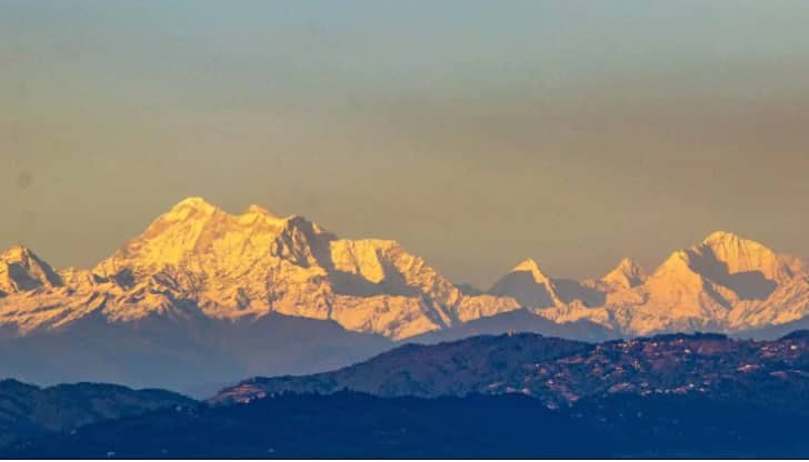 After Several Decades, Mount Everest Visible From Kathmandu As ...
