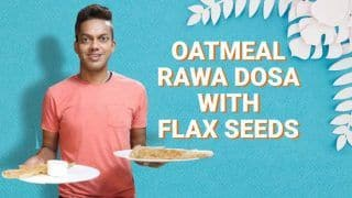 Watch: Add Twist to Your Normal Rawa-Rice Flour Dosa With Flax Seeds And Oatmeal
