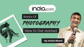 Watch: Learn Basics of Photography in This Interactive Instagram Live Session