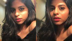 सुहाना खान का पोल्का ड्रेस में ग्लैमरस पोज़, बढ़ती उम्र से लग रहा है डर