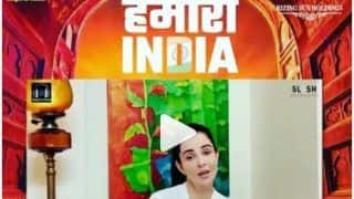 VIDEO: टीवी कलाकार का हौसला बढ़ाने वाला क्वारंटीन स्पेशल सॉन्ग 'हमारा इंडिया' हुआ रिलीज