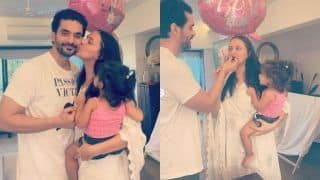 Neha Dhupia, Angad Bedi Celebrate Their Second Wedding Anniversary With Daughter Mehr Amid Lockdown