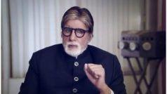 लॉकडाउन में इस बात से बहुत परेशान हो गए अमिताभ बच्चन, फैंस से मांगी माफी
