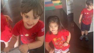 Lockdown With Johars: Roohi And Yash Drag Karan Johar While Dancing to Aankh Maare- Watch
