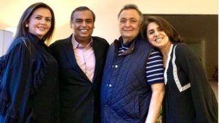 Neetu Kapoor Shares Another Emotional Note on Rishi Kapoor's Battle With Leukaemia, Says 'It Was Full of High Emotion'