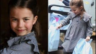 Trending News Today May 02, 2020: Happy Birthday Princess Charlotte: Duchess Kate Middleton-Prince William Share Pictures of 5-Year-Old Delivering Meals Amid COVID-19 Without Wearing Mask