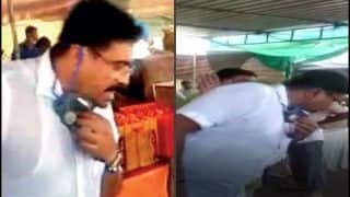 Trending News Today May 03, 2020: DISGUSTING! Gujarat BJP MLA Arvind Raiyani Spits Inside Government-Run Community Kitchen to Feed Poor, Video Goes Viral