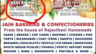 Trending News Today May 09, 2020: 'Made by Jains on Orders, no Muslim Staffs': Chennai Bakery Draws Flak For Its Islamophobic Poster