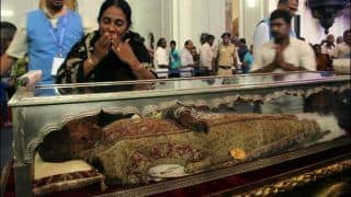 Goa Church to Send 17th Century Silver Casket With St Xavier's Remains to Italy For Repair