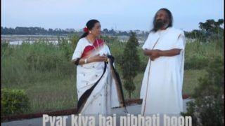 Singer Asha Bhosle Debuts on YouTube with 'Main Hoon' Song on Spiritual Guru Sri Sri Ravi Shankar's 64th Birthday