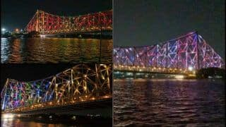 Howrah Bridge in Kolkata Lights up to Honour Coronavirus Warriors, Spectacular Sound Show Lifts Gloom Amid COVID-19