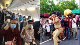 'Flight For 183 Indians, Lathicharge For Millions of Migrants': Twitter Lashes Out at Police Brutality on Labourers Across India in Last 24 Hours